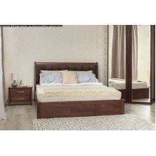 Кровать Сити Премиум с мягкой спинкой с механизмом Бук