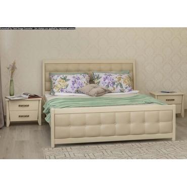Кровать Сити Премиум с мягкой спинкой Бук Олимп
