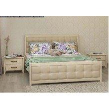 Кровать Сити Премиум с мягкой спинкой Бук