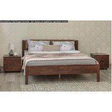 Кровать Лика Люкс с мягкой спинкой Бук