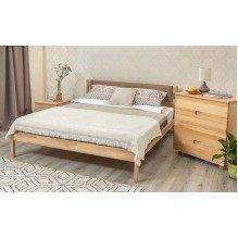 Кровать Лика без изножья с мягкой спинкой Бук