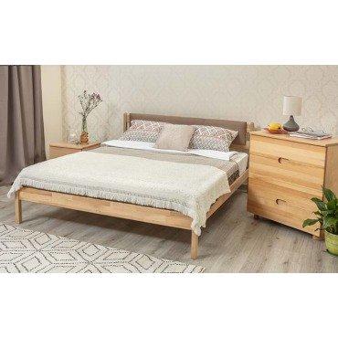 Кровать Лика без изножья с мягкой спинкой Бук Олимп