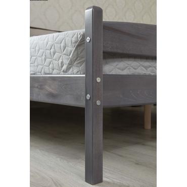 Кровать Лика с мягкой спинкой Бук Олимп