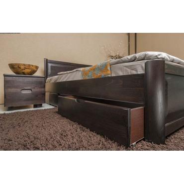 Кровать Марго филенка с ящиками Бук Олимп