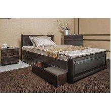 Кровать Марго филенка с ящиками Бук