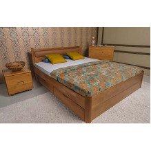 Кровать Марго мягкая с ящиками Бук