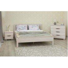 Кровать Марго филенка без изножья Бук
