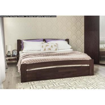 Кровать Милана Люкс с ящиками Бук Олимп