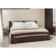 Кровать Милана Люкс с ящиками Бук