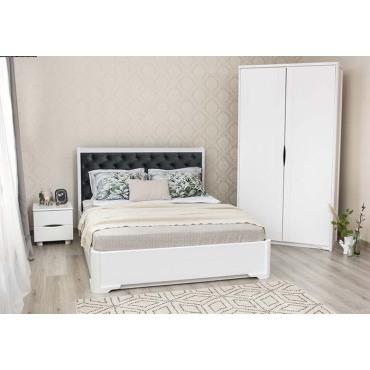 Кровать Милена Премиум Бук Олимп
