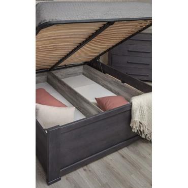 Кровать Оксфорд мягкая спинка с механизмом Бук Олимп