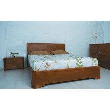 Кровать Милена с интарсией Бук