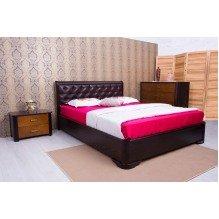 Кровать Милена с мягкой спинкой ромбы и меxанизмом  Бук