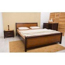 Кровать Сити с интарсией с ящиками Бук