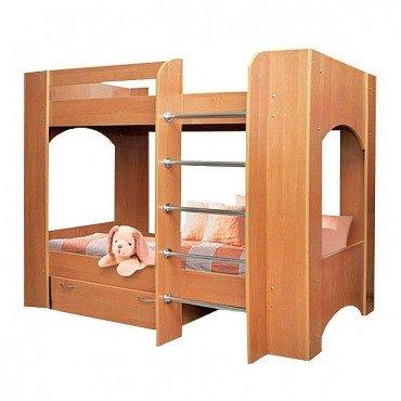 Дуэт 2 Кровать двухъярусная ЧП Пехотин