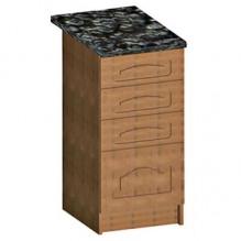 40 низ с ящиками Кухня Мальвина