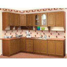 Кухня Елена  угловая МДФ