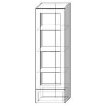 40 верх витрина пенал Кухня София Люкс