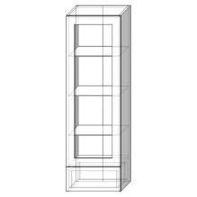 40 верх витрина пенал Кухня София Престиж