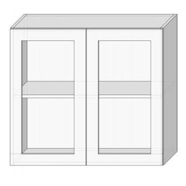 80 верх витрина сушка Кухня София Люкс Сокме