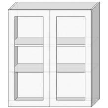 80 верх витрина/925 Кухня София Люкс