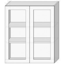 80 верх витрина/925 Кухня София Престиж
