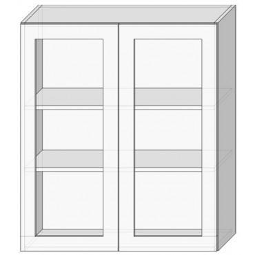 80 верх витрина/925 Кухня София Люкс Сокме