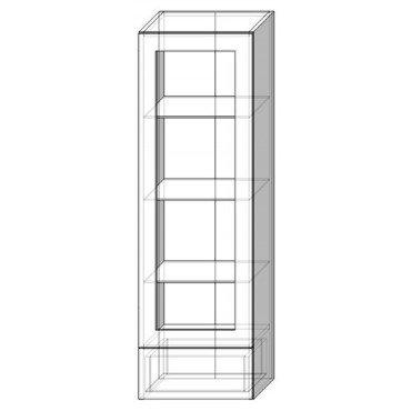 40 верх витрина пенал Кухня София Люкс Сокме